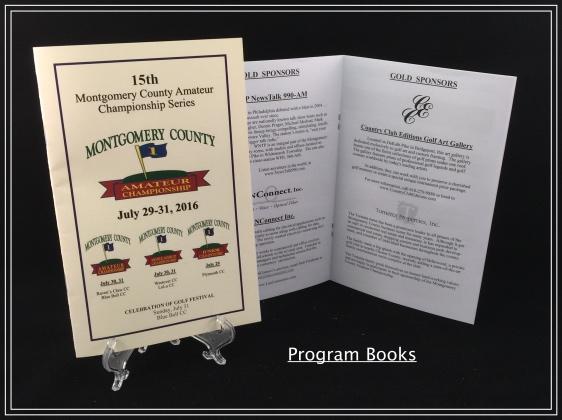 event program printing