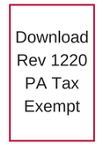 Schank Printing Tax exempt form rev 1220
